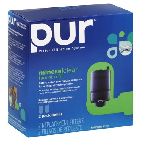 pur replacement filters mineral clear faucet refill 2 filters tools kitchen faucet