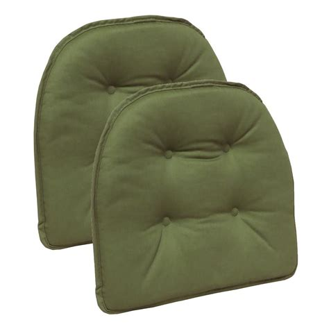 gripper non slip 14 in x 14 in faux leather tufted