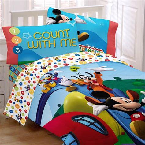disney mickey mouse clubhouse sheet set bedding walmart