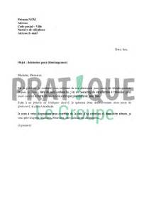 lettre 224 l employeur d 233 mission pour cause de d 233 m 233 nagement mod 232 le 2 pratique fr