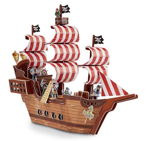 Schip Puzzel by Pirate Ship 3d Puzzle Puzzlewarehouse