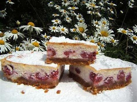 recette de tarte 224 la ricotta et aux framboises