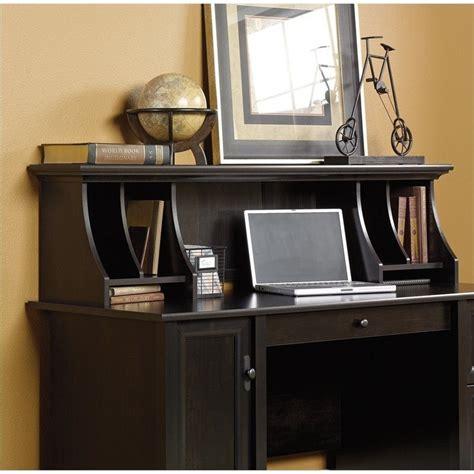 sauder edge water hutch set estate black computer desk ebay