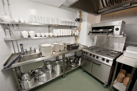 Compact Commercial Kitchen Design  Home Christmas Decoration