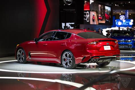 The Kia Stinger Is A Sports Sedan That Sizzles In A Sea Of