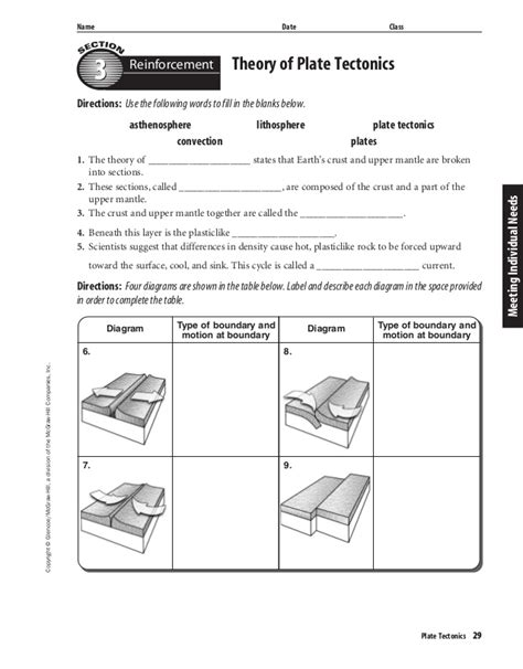sea floor spreading worksheet rupsucks printables worksheets
