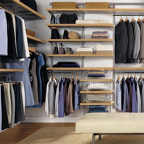 Practical And Comfortable Walk In Closet Systems Ideas