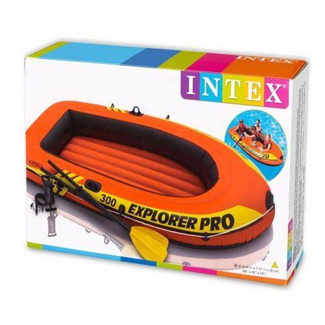 Opblaasboot Kwaliteit by Intex Opblaasboot Explorer Pro 300 Set Driepersoons