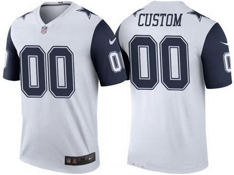 Youth Dallas Cowboys Custom Olive Camo Salute To Service