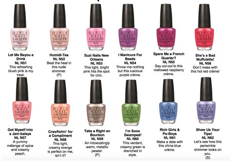 Opi New Orleans {spring Nail Colors}