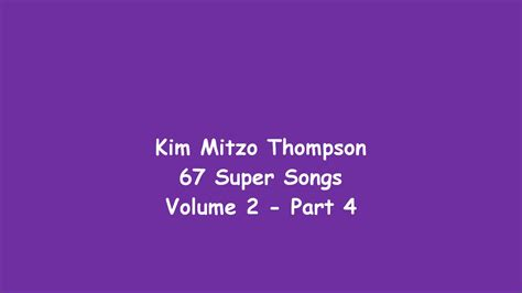 67 Super Songs Volume Two (part 4
