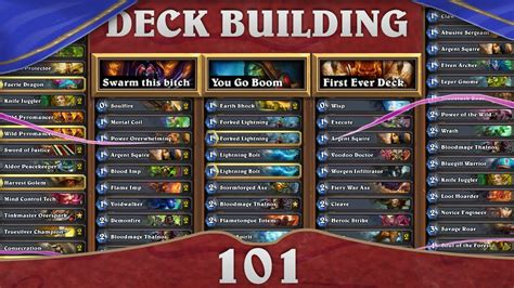 hearthstone deck building 101 of all trades paladin