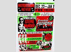 Motor Town Revue Poster; Detroit Fox Theater 1965 – 1966