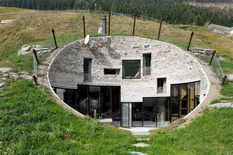 inspiring underground homes plans 10 underground house cave house switzerland by cma and search 3 thecoolist