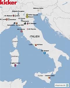 Italienische Schweiz Karte : die serie a im kartenbild italien news kicker ~ Markanthonyermac.com Haus und Dekorationen