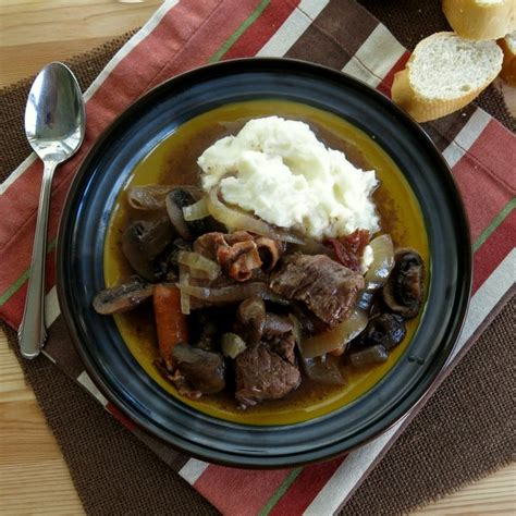 crock pot beef bourguignon for sundaysupper the dinner