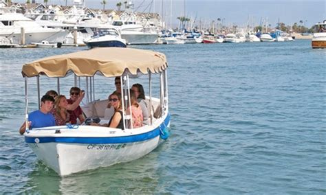 Duffy Boat Rental Deals Newport Beach by Electric Boat Rental Wayward Captain Watersports Groupon