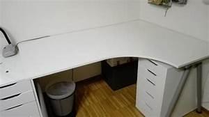 Schreibtisch Höhenverstellbar Ikea : schreibtisch eckschreibtisch ikea galant in birkenfurnier in leinfelden echterdingen ikea ~ Markanthonyermac.com Haus und Dekorationen
