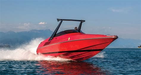 Ferrari Boat by You Can Own This Extremely Rare Riva Ferrari Speedboat
