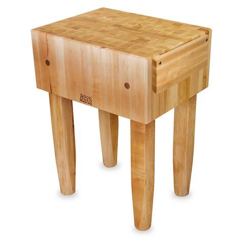 "John Boos Pca2 10"" Maple Top Butcher Block Work Table 18"