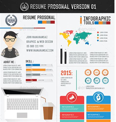 Fresh Start Top 10 Infographic Resume Templates For 2016