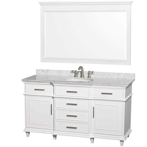 wyndham collection wcv171760swhcmunrm56 berkeley single vanity white 60 inch with white