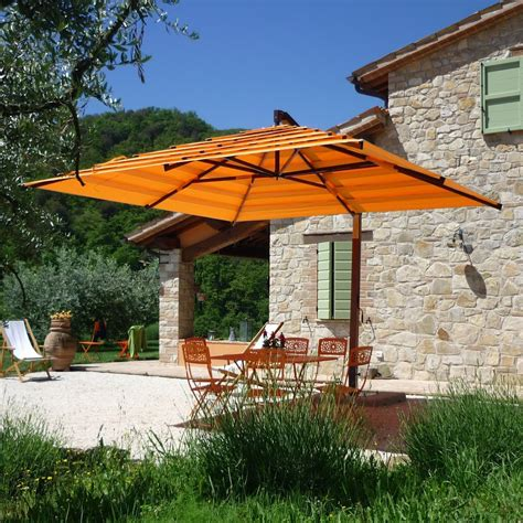 18 offset rectangular outdoor umbrellas bayco