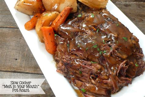 cooker quot melt in your quot pot roast joyously domestic bloglovin