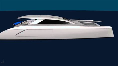 Schionning Catamaran Design by G Force 1800 Cad Rendering Schionning Designs