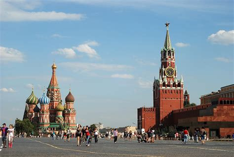 Moscow Red Square by Red Square Wikipedia