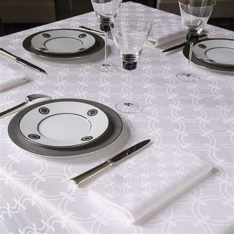 nappe de table nappe de table de r 233 ception blanche