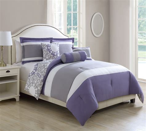 Lavender And Grey Bedding by Lavender And Grey Bedding Purple And Gray Comforter Sets