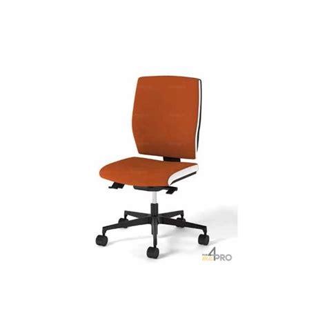 fauteuil de bureau synchrone avec dossier haut pieds alu