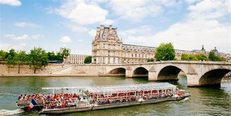Boat Tour Paris Seine by Seine River Cruise Fat Tire Tours