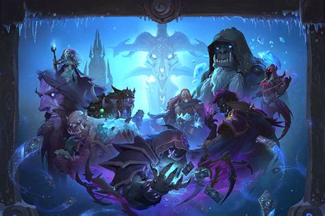 hearthstone s knights of the frozen throne expansion komt