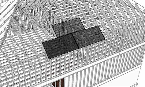inspecting roof panel sheathing internachi