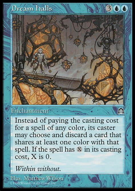 halls magic the gathering card info