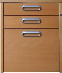 Ikea Büro Rollcontainer : ikea effektiv rollcontainer mit 3 schubladen in buche mit schlo ohne schl ssel ebay ~ Markanthonyermac.com Haus und Dekorationen