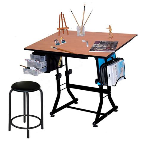 Best Art Desks & Drafting Tables For Artists. Cute White Desk. Under Cabinet Drawer Refrigerator. Electric Height Adjustable Desk Uk. C Table With Drawer. Billiards Tables. Rio Front Desk. Round Dinning Table. Malm Ikea Desk