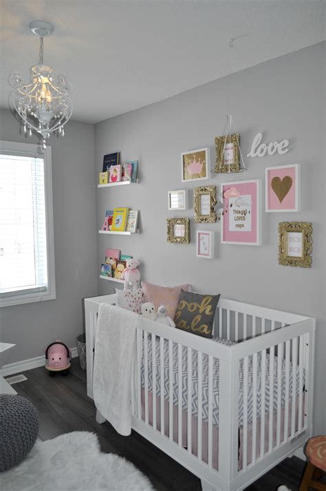 Creating A Girl's Pink And Grey Nursery