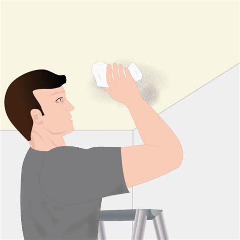 enlever la moisissure au plafond plafond