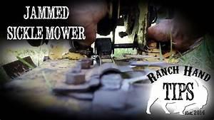 Sickle Mower Repair - Ranch Hand Tips - YouTube