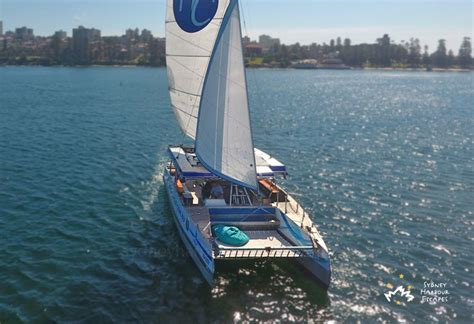 Catamaran Hire Manly by Harbour Cat Boat New Years Eve Boat Charter Sydney Harbour