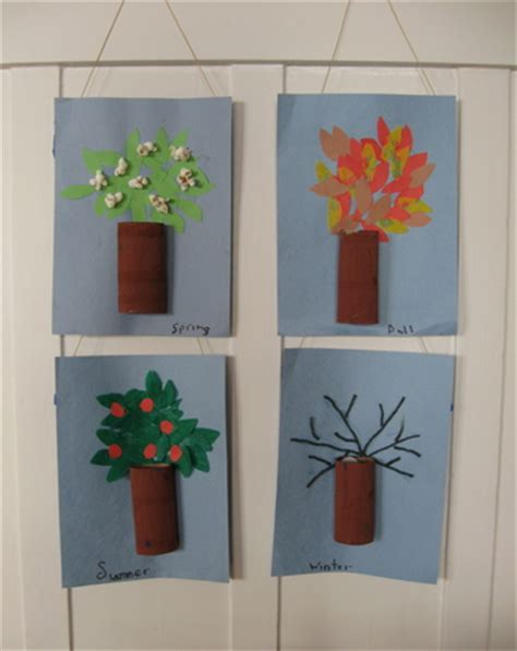 Make Four Season Trees!  Activity Educationcom