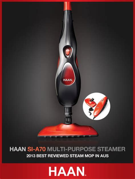 haan australia l si a70 multi purpose steam mop cleaner