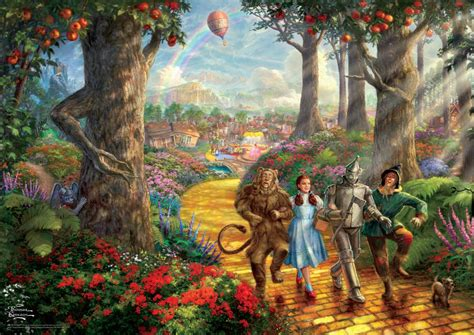 kinkade the wizard of oz ii 1000 puzzle by