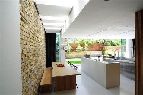 dining table kitchen open plan modern home in by bureau de change design office