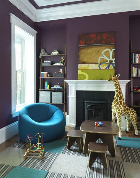 10 Purple Modern Living Room Decorating Ideas  Interior