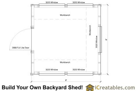 8x8 greenhouse shed plans storage shed plans icreatables