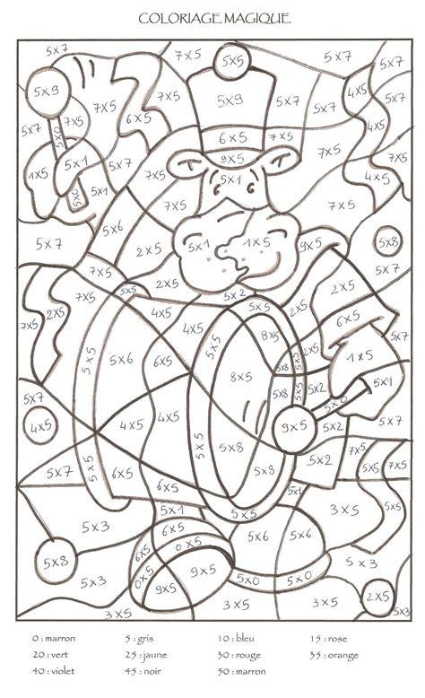 coloriage magique cm1 a imprimer